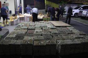 704.000 Batang Rokok Ilegal di Bawah Telur Disita di Batang