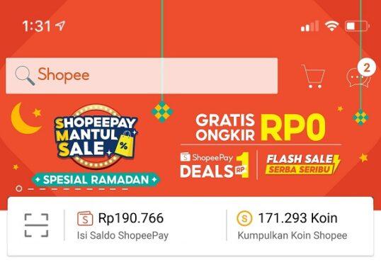 ShopeePay Mantul Sale (Khusus-Shopee)