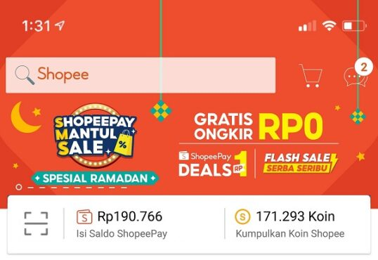 ShopeePay Mantul Sale (Istimewa-Shopee)