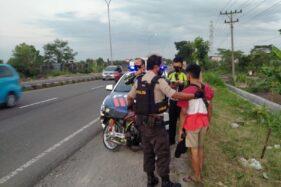 Ngabuburit Sambil Balap Liar di Karanganyar, Pemuda Ngawi Ditilang