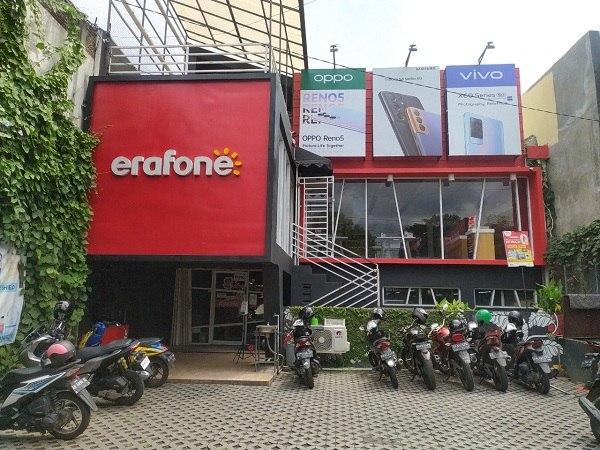 Erafone Cloud Retail Partner, Erajaya Group Sukses Tarik Investor