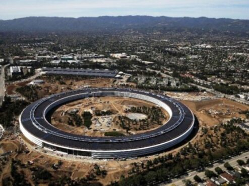 Apple Park, kantor pusat Apple di Silicon Valley (Detik.com)