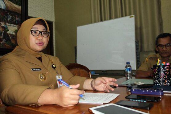 Bupati Sragen Kusdinar Untung Yuni Sukowati  (Espos/Tri Rahayu)