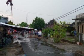 Hujan Badai, Atap Rumah Warga Gondangrejo Karanganyar Berterbangan