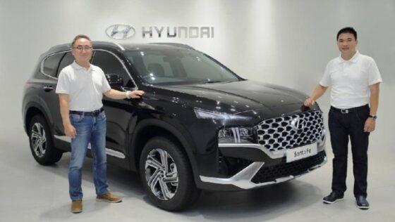 Hyundai New Santa Fe resmi diluncurkan di Indonesia. (Dok. HMID)