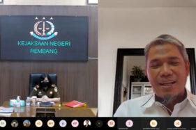 Perkokoh Tata Kelola yang Baik, SG Adakan Webinar Bersama Kajari Rembang