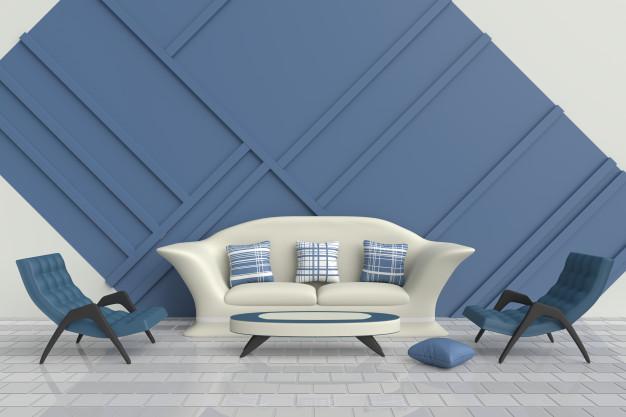 Kenali Ragam Warna Biru untuk Berbagai Desain Rumah
