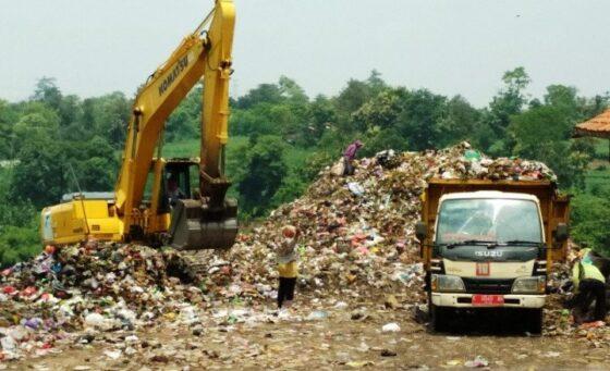 Ilustrasi tempat pembuangan sampah akhir di Kudus (Antara)