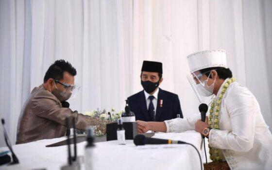 Kehadiran Jokowi di pernikahan Atta-Aurel jadi sorotan (Bisnis.com)