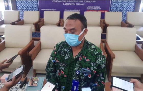Kepala Dinas Pendidikan Sleman, Ery Widaryana saat ditemui wartawan di kompleks Kantor Bupati Sleman, Kamis (8/4). (harianjogja.com/Lugas Subarkah)