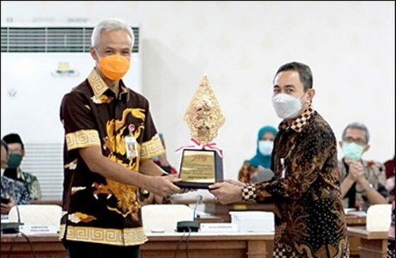 Kabupaten Pati meraih peringkat Terbaik I PPD Provinsi Jateng. (Patikabgoid)