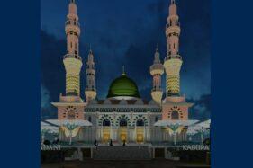 Habiskan Dana Rp89 Miliar, Masjid Agung Karanganyar Ditarget Rampung Akhir 2021