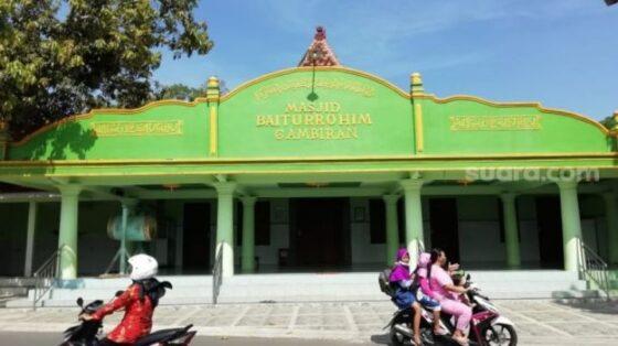 Masjid Baiturrohim Gambiran di Desa Sukoharjo, Kecamatan Margorejo, Pati. (Suaracom)