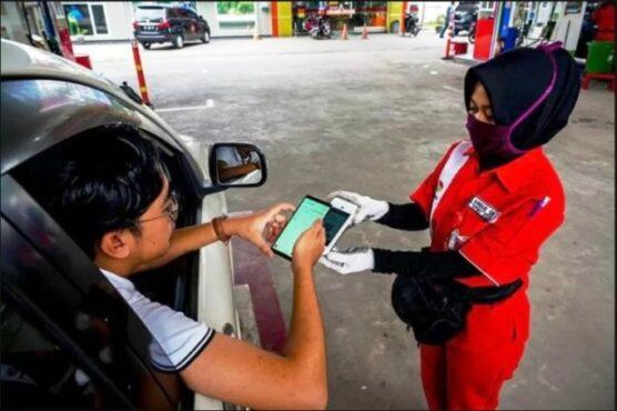 Digitalisasi di 821 SPBU Pertamina di Jateng Bisa Bayar Cashless