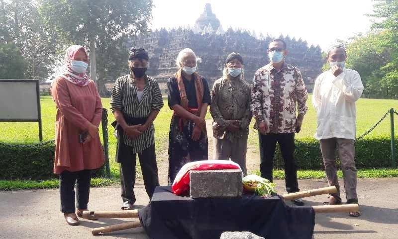 Masyarakat Serahkan Artefak Dukung Pelestarian Candi Borobudur