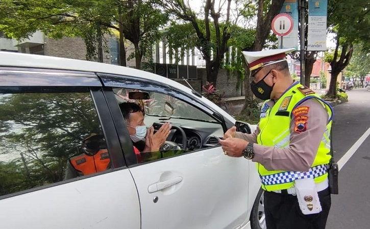 Melintas di Solo Saat Lebaran, 481 Kendaraan Diperiksa