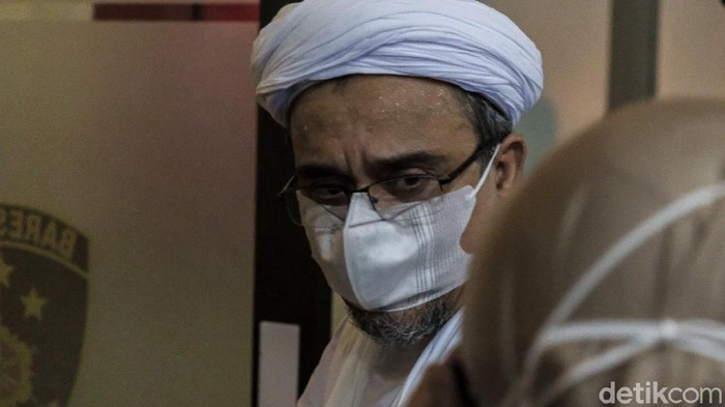 Hakim Tolak Eksepsi Habib Rizieq, Sidang Lanjut Ke Pemeriksaan Saksi