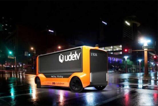 The Transporter, kendaraan otonom dari Udelv (Antara/Intel Mobileye)