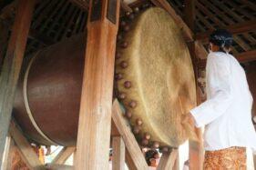 Tabuh Beduk Blandrangan, Tradisi di Menara Kudus Sambut Ramadan