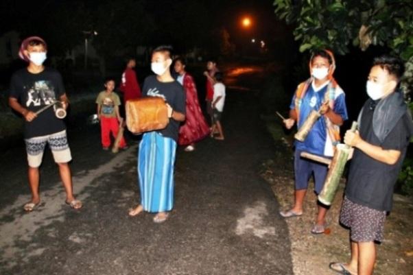 Bangun Sahur di Kabupaten Blora Jangan Kaget Ada Thethek
