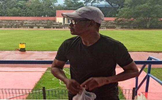 Pelatih kiper Persis Solo, Eddy Harto (Istimewa)