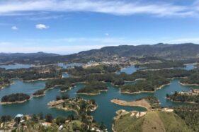 Intip Keindahan Guatape Dam Kolombia, Wisata Hit yang Bakal Ditiru WGM Wonogiri