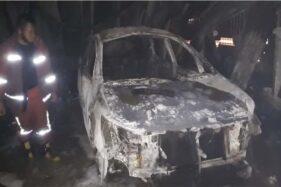Mobil Innova, 2 Motor, 5 Ton Pupuk Ikut Hangus, Begini Dahsyatnya Kebakaran Rumah dan Toko di Masaran Sragen