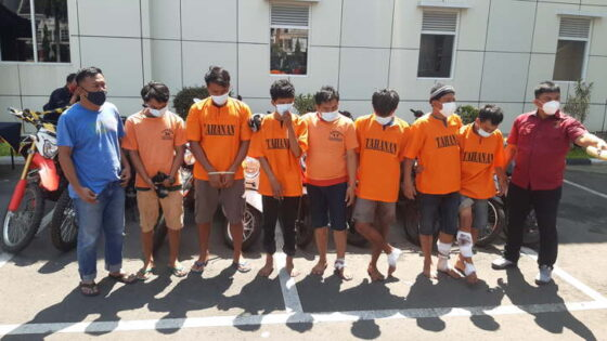 Komplotan Pelaku Curanmor Lintas Pulau Diringkus Polda DIY