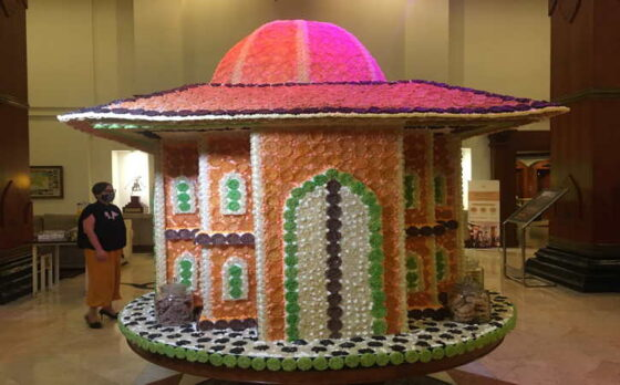 Keren! Ada Miniatur Masjid dari Rengginan di The Sunan Hotel Solo