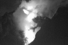 Merapi 3 Kali Luncurkan Awan Panas Guguran dalam 6 Jam