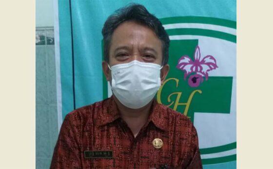 Ketua Musyawarah Kerja Kepala Sekolah (MKKS) SMK Klaten, Muhammad Woro. (Solopos-Ponco Suseno)