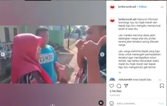 Viral Video Notaris Maki-maki Mau Tutup Jalan Kampung, Katanya Sudah Dibeli