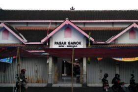 Pasar Gawok Sukoharjo Ditutup Hingga 20 Juli 2021