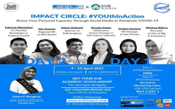 Dorong Optimalisasi Skill dan Kapasitas Pemuda, Impact Circle Bikin Kegiatan di UNS