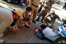 Viral, Pengemis Pura-Pura Lumpuh Ditangkap Satpol PP di Pasar Ir Soekarno Sukoharjo