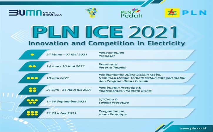 Dorong Inovasi Kelistrikan, PLN Gelar ICE 2021 Berhadiah Total Rp1 Miliar