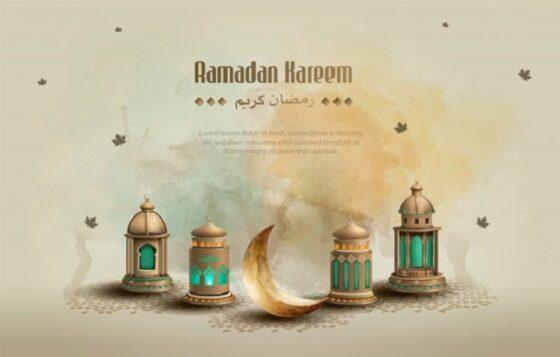 Ilustrasi Ramadan. (Freepik)