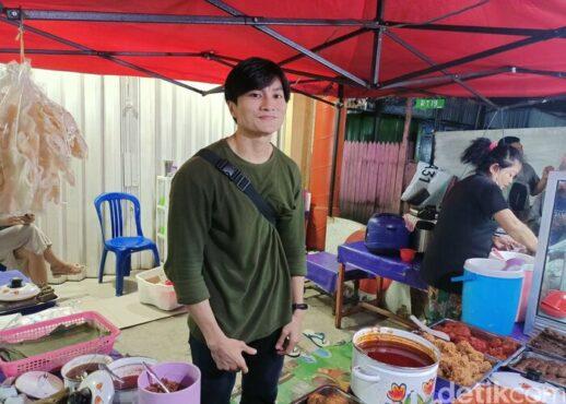Penjual nasi kuning di Samarinda ini disebut mirip Lee Min Ho (Detik)
