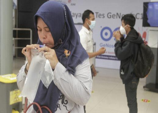 Ilustrasi tes GeNose saat puasa (JIBI/Bisnis Indonesia)