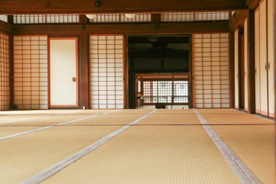 Ilustrasi rumah Jepang (freepik)