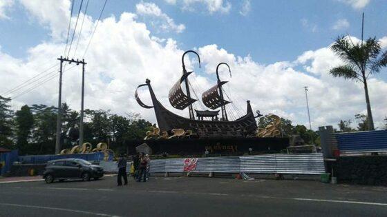 Gerbang Samudra Raksa di Kulonprogo. (harianjogja.com/Hafit Yudi Suprobo)
