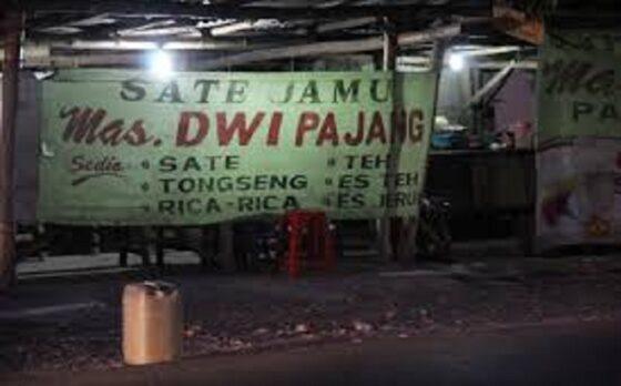 Ilustrasi spanduk kuliner sate jamu di Soloraya. (Youtube)