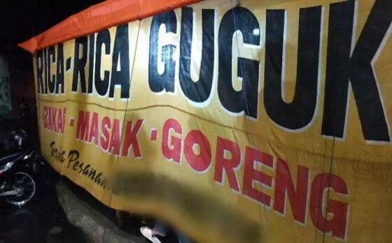 Ilustrasi spanduk warung olahan anjing di Kota Solo. (Youtube)