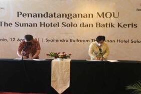 Asyik, Menginap di The Sunan Hotel Solo akan Dapat Diskon Belanja Batik Keris