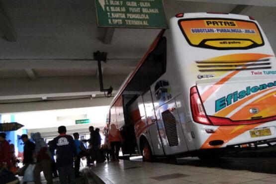 Ilustrasi: SItuasi di Terminal Giwangan, Kota Jogja. (Harianjogja.com)