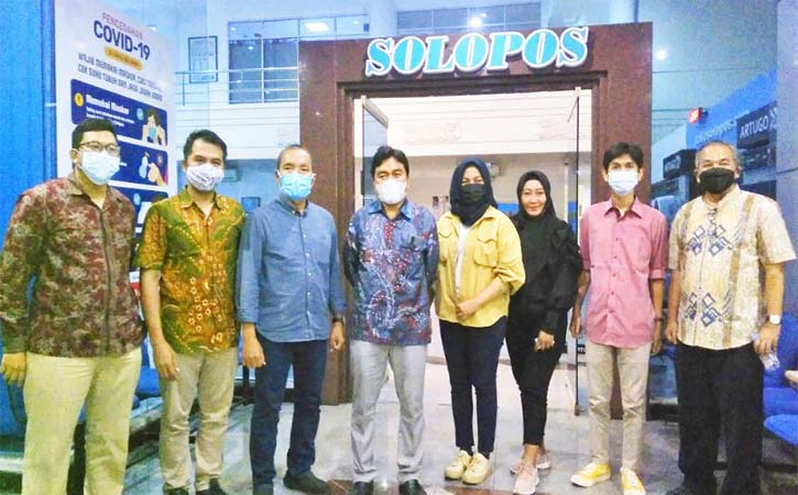 Silaturahmi ke Solopos, CEO Wardah Bicara Soal Inovasi dan Kepedulian