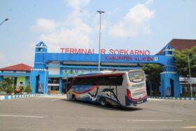Terminal Ir Soekarno Klaten Masih Lengang, Karena Larangan Mudik Lebaran?