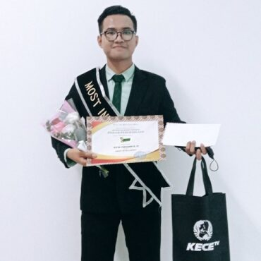 Keren, Mahasiswa UNS Raih Most Intelligent Kece Cari Presenter Unesa