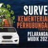 Survei Kementerian Perhubungan Terkait Pelarangan Mudik 2021