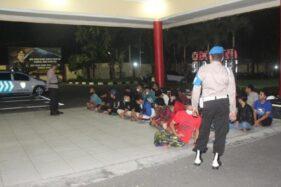 PSHT dan PSHW Bentrok di Blitar, Polisi Amankan 28 Pesilat